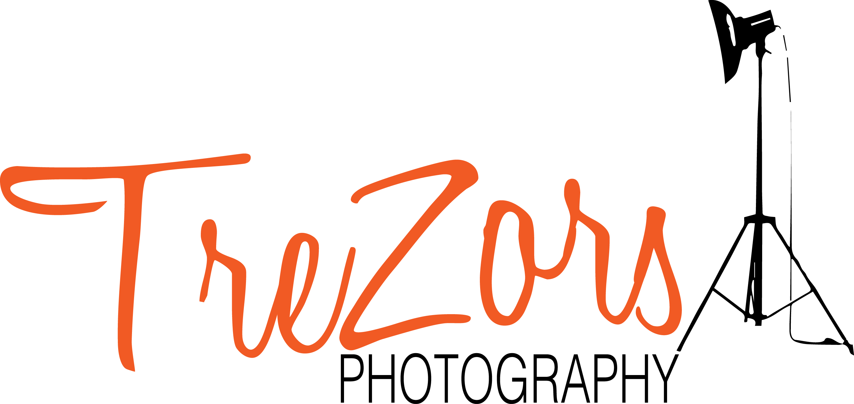logo trezors photography noir
