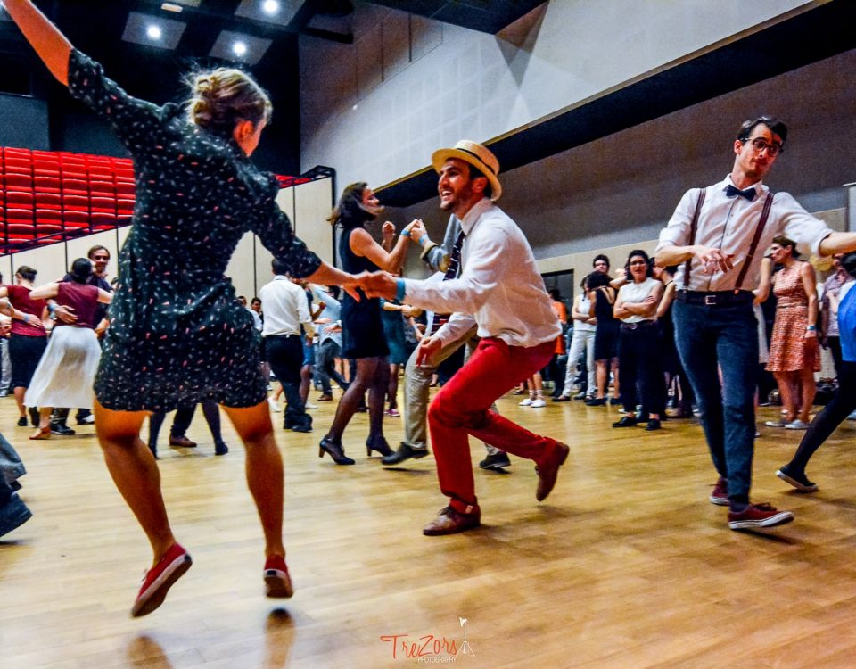 Danse lindy hop